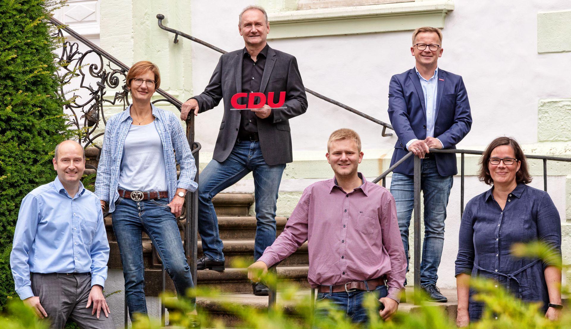 Wir wollen Liesborn im Rat vertreten! (Klaus Grothues, Jürgen Rühl, Markus Woermann, Alfons Wickenkamp, Alexandra Flürenbock)